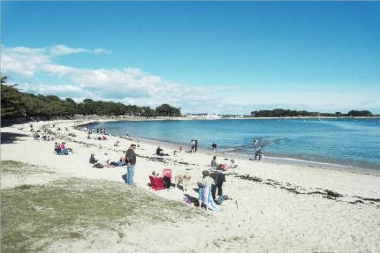 la plage de saint philibert